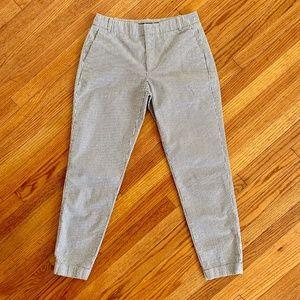 Zara Basic Collection Blue & White Striped Pants